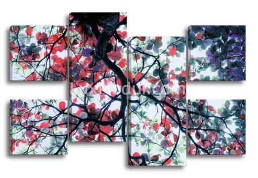 Дерево-с-красными-листьями-главная-(89х135см)