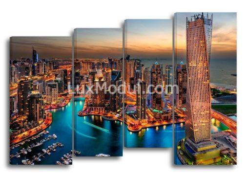 Город-Дубай-главная-(89х130см)
