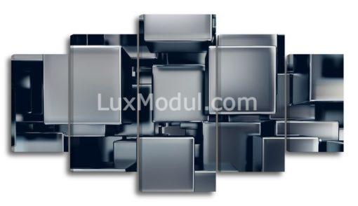 Кубическая-абстакция-(89х165см)