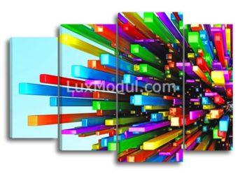 модульная картина - абстракция