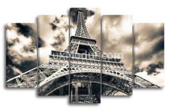 модульная картина - города