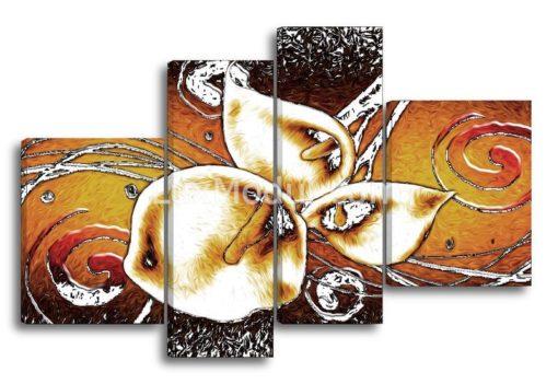 Каллы-абстракция-(89х135см)