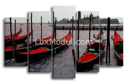 Лодки-(89х145см)