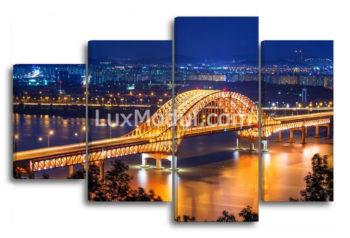модульная картина - мост