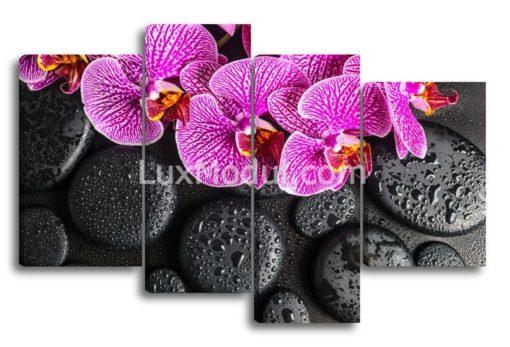 Орхидеи-на-мокрых-камнях(89х137см)