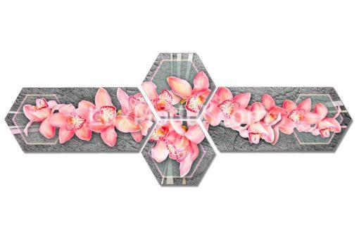 Гексы-Розовая-орхидея-(77х200см)