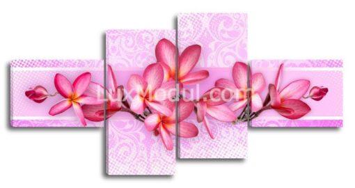 Композиция-из-розовых-плюмерий-(89х180см)