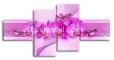 модульная картина - орхидея