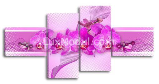 Лиловая-орхидея(89х180см)