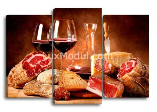Мясо-и-вино-(75х110см)