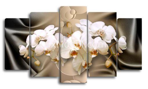 Шелковые-орхидеи-(89х160см)