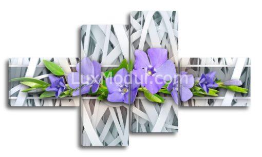 Синие-цветочки-(89х158см)