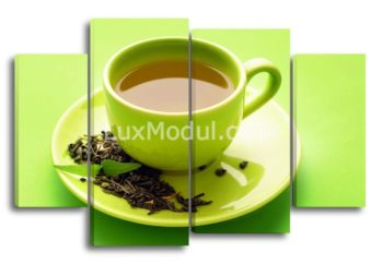 Модульная картина - для кухни чай
