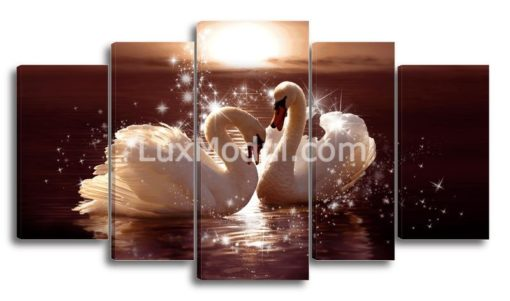 Два-лебедя-(89х160см)