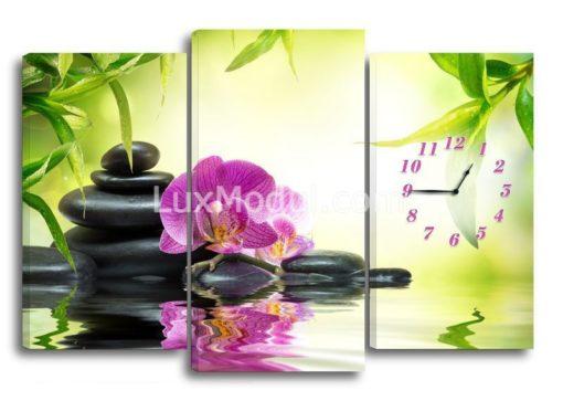 Орхидея-на-воде-(75х110см)