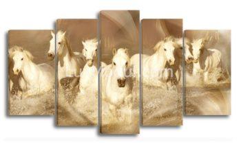 Модульная картина - лошади