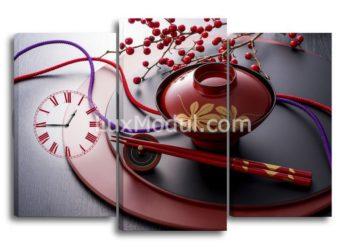 Модульная картина - часы