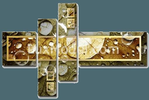 Абстрактная модульная картина