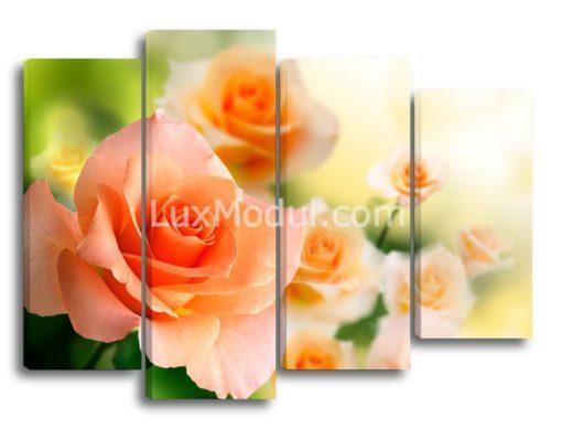 модульная картина - цветы