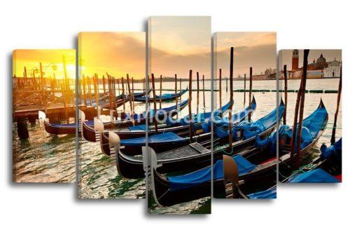 Венеция-закат-(89х147см)