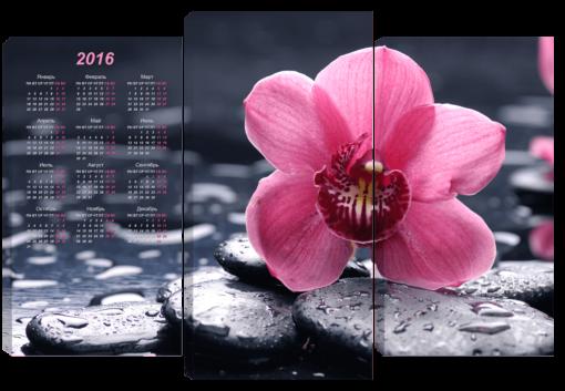Орхидея-на-камнях-(75х110см)