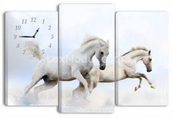 часы с картиной