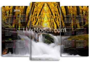 модульная картина календарь