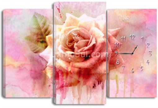Акварельная роза