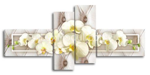 Белые-орхидеи-на-белом(89х190см)
