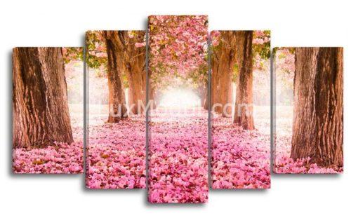 Розовая-аллея-(89х152см)