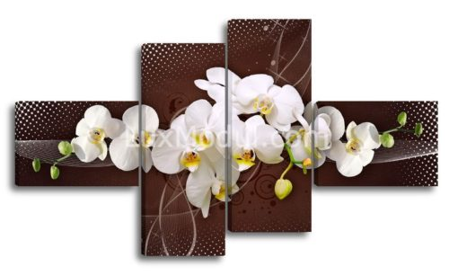 Темная-композиция-с—орхидеями(89х157см)
