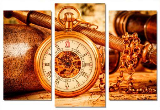 Золотые-часы-(75х110см)