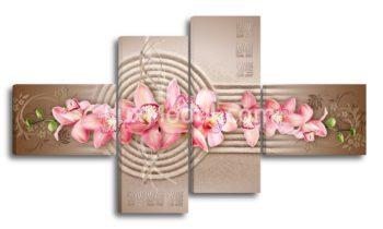 модульная картина - орхидеи