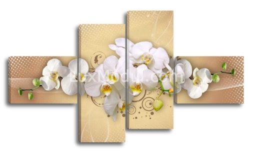 Композиция-с-орхидеями-на-светлом-(89х157см)