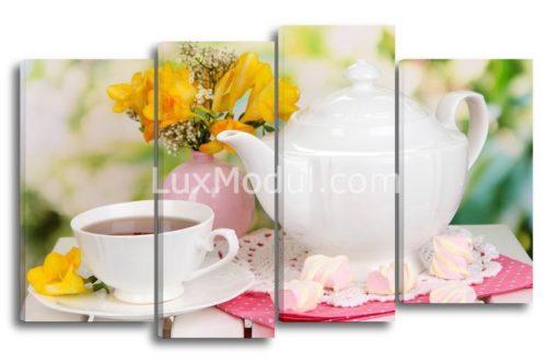 Чай-с-зефиром(89х145см)