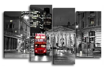 Модульная картина - лондон