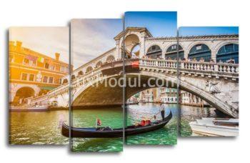 Модульная картина - Мост в венеции