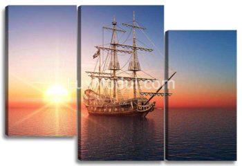 Корабль на восходе